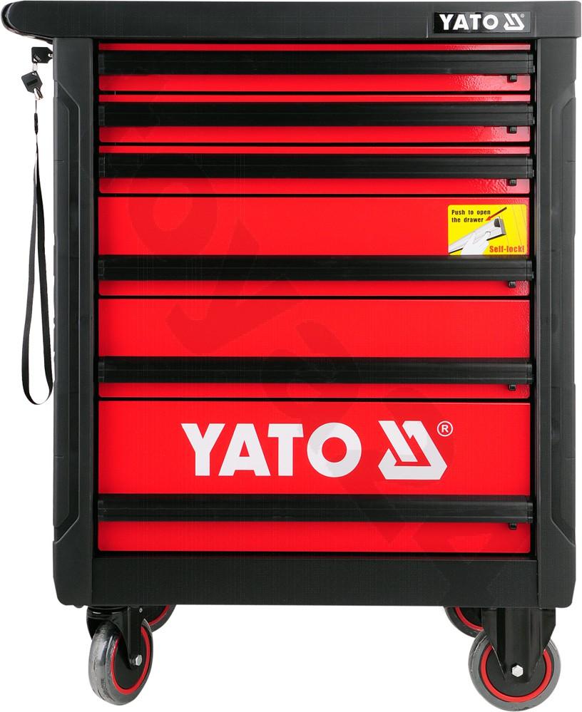 744897e5fd8bdd YATO Szafka serwisowa z narzędziami 177 części YT-5530