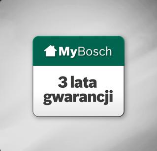 Gwarancja Bosch Zielony