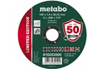 Metabo Limited Edition 125 x 1,0 x 22,23 Inox, TF 41 616263000