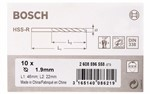 Bosch Wiertła do metalu HSS-R, DIN 338 1,9 x 22 x 46 mm 2608596558