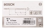 Bosch Wiertła do metalu HSS-R, DIN 338 5,7 x 57 x 93 mm 2608596581