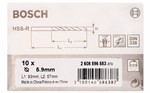 Bosch Wiertła do metalu HSS-R, DIN 338 5,9 x 57 x 93 mm 2608596583