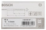 Bosch Wiertła do metalu HSS-R, DIN 338 6,3 x 63 x 101 mm 2608596587