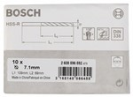 Bosch Wiertła do metalu HSS-R, DIN 338 7,1 x 69 x 109 mm 2608596592