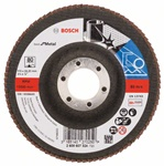 Bosch Listkowa tarcza szlifierska X571, Best for Metal D = 115 mm, K = 80, prosta 2608607324