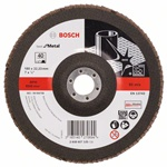 Bosch Listkowa tarcza szlifierska X571, Best for Metal D = 180 mm, K = 40, prosta 2608607330