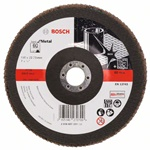 Bosch Listkowa tarcza szlifierska X571, Best for Metal D = 180 mm, K = 60, prosta 2608607331