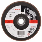Bosch Listkowa tarcza szlifierska X571, Best for Metal D = 180 mm, K = 80, prosta 2608607332