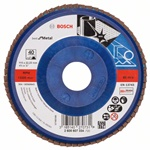 Bosch Listkowa tarcza szlifierska X571, Best for Metal D = 115 mm, K = 40, prosta 2608607334
