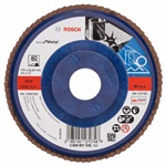 Bosch Listkowa tarcza szlifierska X571, Best for Metal D = 115 mm, K = 60, prosta 2608607335