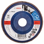 Bosch Listkowa tarcza szlifierska X571, Best for Metal D = 115 mm, K = 80, prosta 2608607336