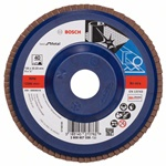 Bosch Listkowa tarcza szlifierska X571, Best for Metal D = 125 mm, K = 40, prosta 2608607338