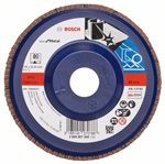 Bosch Listkowa tarcza szlifierska X571, Best for Metal D = 125 mm, K = 80, prosta 2608607340