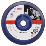 Bosch Listkowa tarcza szlifierska X571, Best for Metal D = 180 mm, K = 60, prosta 2608607343