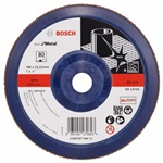 Bosch Listkowa tarcza szlifierska X571, Best for Metal D = 180 mm, K = 80, prosta 2608607344