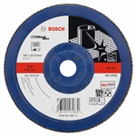 Bosch Listkowa tarcza szlifierska X571, Best for Metal D = 180 mm, K = 120, prosta 2608607345