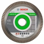 Bosch Diamentowa tarcza tnąca Best for Ceramic Extra-Clean Turbo 125 x 22,23 x 1,4 x 7 mm 2608602479