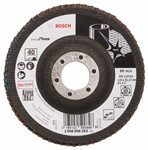 Bosch Listkowa tarcza szlifierska X581, Best for Inox 115 mm, 22,23 mm, 40 2608608263