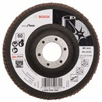 Bosch Listkowa tarcza szlifierska X581, Best for Inox 115 mm, 22,23 mm, 60 2608608268