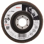 Bosch Listkowa tarcza szlifierska X581, Best for Inox 115 mm, 22,23 mm, 80 2608608269