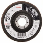 Bosch Listkowa tarcza szlifierska X581, Best for Inox 115 mm, 22,23 mm, 120 2608608270