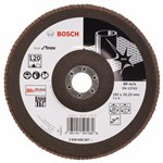 Bosch Listkowa tarcza szlifierska X581, Best for Inox 180 mm, 22,23 mm, 120 2608608287