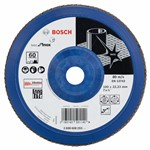 Bosch Listkowa tarcza szlifierska X581, Best for Inox 180 mm, 22,23 mm, 60 2608608293