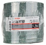 Bosch Fibrowa tarcza szlifierska R584, Best for Inox 115 mm, 22,23 mm, 36 2608608296