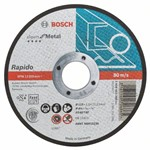 Bosch Tarcza tnąca prosta Expert for Metal – Rapido AS 60 T BF, 115 mm, 1,0 mm 2608603394