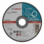 Bosch Tarcza tnąca prosta Expert for Metal – Rapido AS 60 T BF, 125 mm, 1,0 mm 2608603396