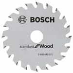 Bosch Tarcza pilarska Optiline Wood 85 x 15 x 1,1 mm, 20 2608643071