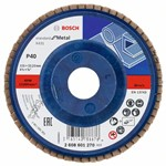 Bosch Listkowa tarcza szlifierska X431, Standard for Metal 115 mm, 22,23 mm, 40 2608601270