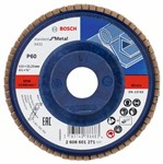 Bosch Listkowa tarcza szlifierska X431, Standard for Metal 115 mm, 22,23 mm, 60 2608601271