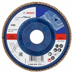 Bosch Listkowa tarcza szlifierska X431, Standard for Metal 115 mm, 22,23 mm, 80 2608601272