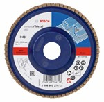 Bosch Listkowa tarcza szlifierska X431, Standard for Metal 125 mm, 22,23 mm, 40 2608601274