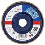 Bosch Listkowa tarcza szlifierska X431, Standard for Metal 125 mm, 22,23 mm, 120 2608601277