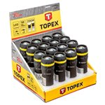 TOPEX Latarka z zoomem x 16 szt, Display box 94W395-16