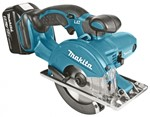 Makita Przecinarka do metalu 136mm 18V (5,0Ah MAKPAC) DCS550RTJ