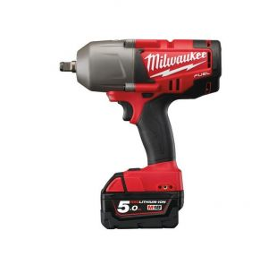 "MILWAUKEE KLUCZ UDAROWY 18V 1/2"" 950Nm 2x5,0Ah LI-ION FUEL M18CHIWF12-502X"
