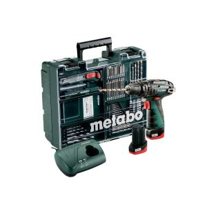 Metabo Akumulatorowa wiertarka udarowa PowerMaxx SB Basic Set 600385920