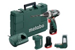 Metabo Wiertarko-wkrętarka akumulatorowa PowerMaxx BS Basic Set 600080910