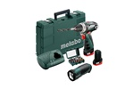 Metabo Wiertarko-wkrętarka akumulatorowa PowerMaxx BS Basic Set 600080930