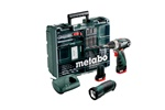Metabo Wiertarko-wkrętarka akumulatorowa PowerMaxx BS Basic Set 600080940