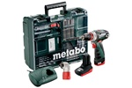 Metabo Wiertarko-wkrętarka PowerMaxx BS Quick Pro Set 600157880