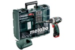 Metabo Wiertarko-wkrętarka PowerMaxx BS Set 600079880