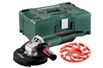 Metabo Szlifierka kątowa WE 15-125 HD Set GED 600465500